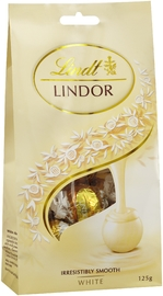 Lindt: Lindor White Chocolate Bag (125g)