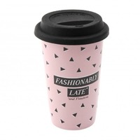 Fashionably Late *and Flawless Travel Mug