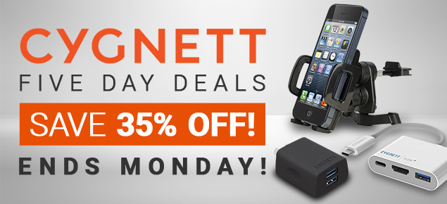 Cygnett SALE! Up to 35% Off!