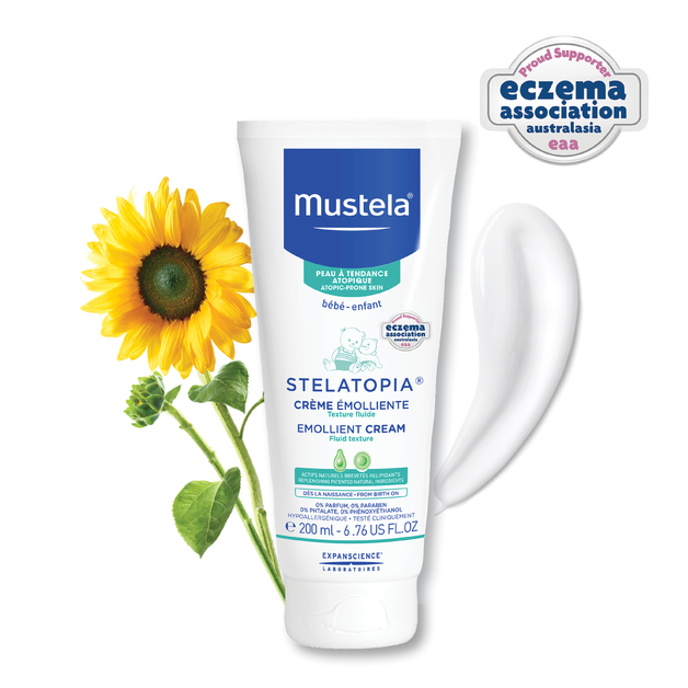 Mustela: Stelatopia Emollient Cream - 200ml