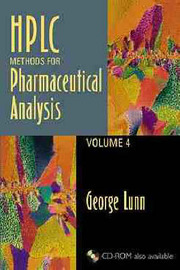 HPLC Methods for Pharmaceutical Analysis: v. 4 by George Lunn image
