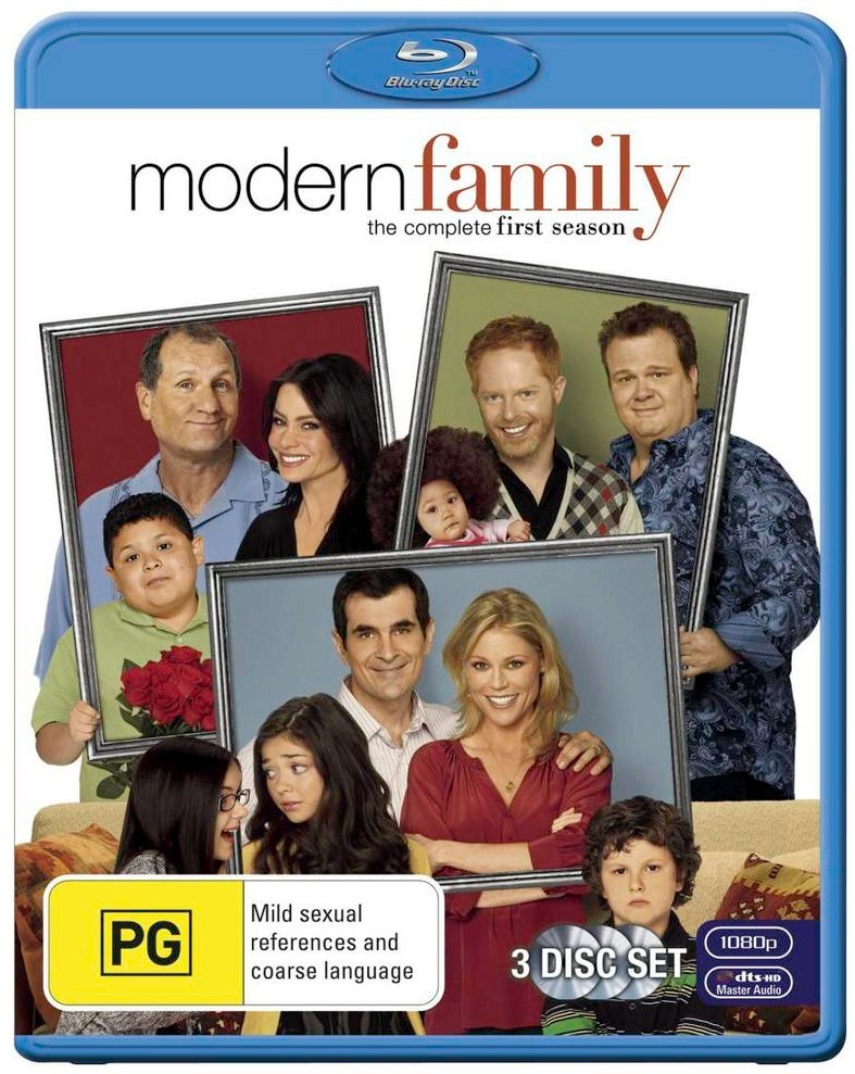 Modern Family - The Complete First Season on Blu-ray image
