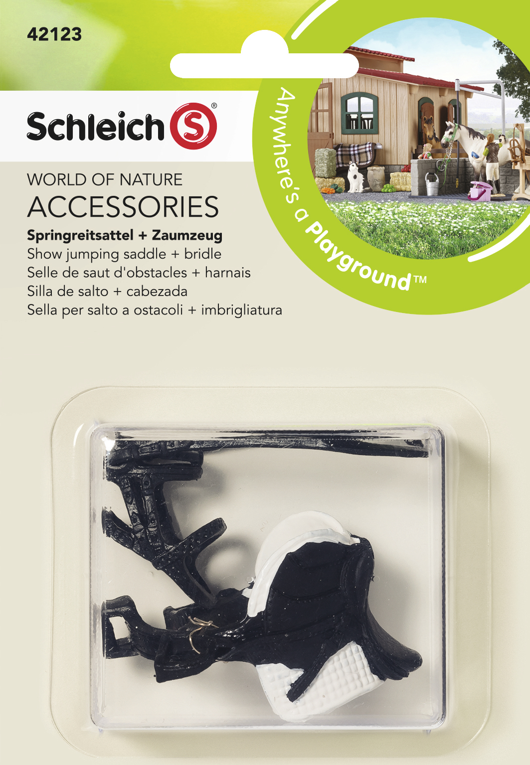 Schleich: Show Jumping Saddle + Bridle image