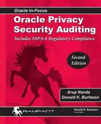 Oracle Privacy Security Auditing by Arup Nanda