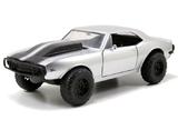Jada Fast & Furious 7 Roman's Chevy Camaro Off Road Silver 1:24 Diecast Model