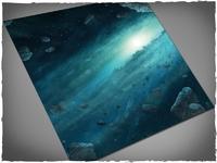 DeepCut Studio Asteroid Field Neoprene Mat (3x3)