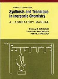 Synthesis and Technique in Inorganic Chemistry by Gregory S. Girolami image