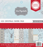 Craft Smith 6 x 6 Paper Pad - Ice Crystal
