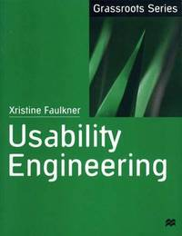 Usability Engineering by Xris Faulkner image