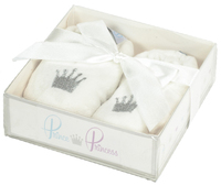 Prince & Princess Bear Slippers - Cream image