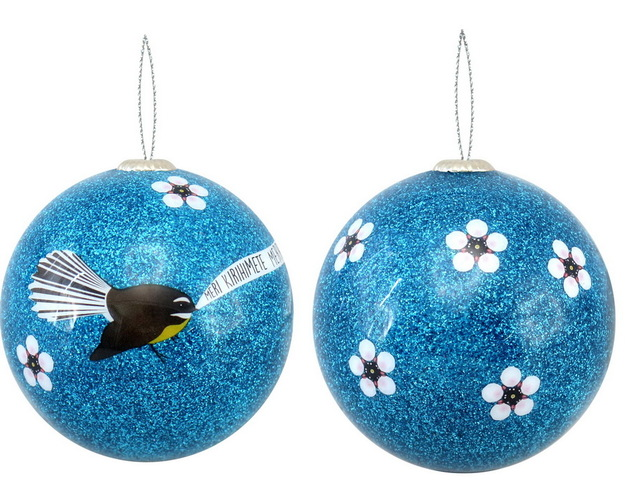 Antics: Christmas Decoration - Blue Fantail