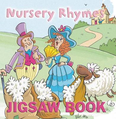Nursery Rhymes Jigsaw Book image
