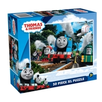 Holdson: Thomas & Friends - The Great Race - 50 XL Piece Puzzle image
