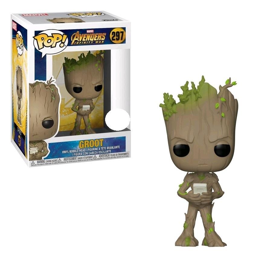 Avengers: Infinity War - Teen Groot (with Game) Pop! Vinyl Figure image