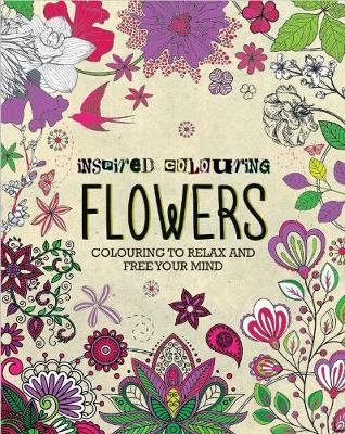 Inspired Colouring Flowers by Parragon Books Ltd image