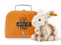 Steiff: Melly Rabbit Plush - With Suitcase
