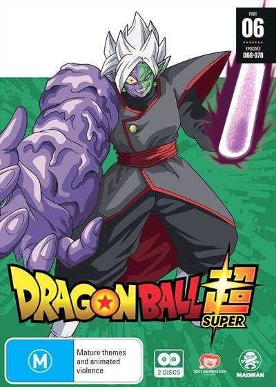 Dragon Ball Super Part 6 (eps 66-78) on DVD