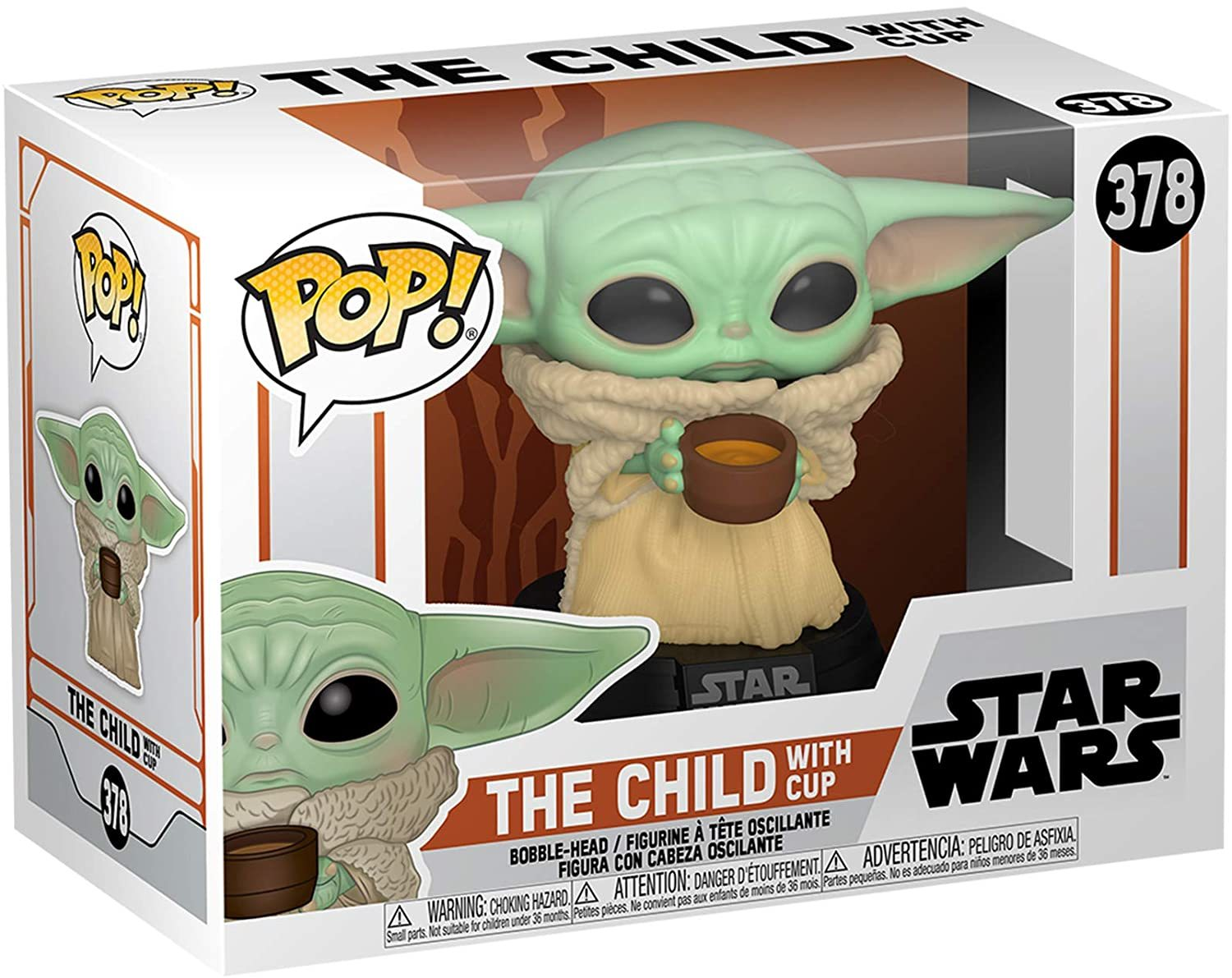 Star Wars: The Mandalorian - The Child (with Cup) Pop! Vinyl Figure image