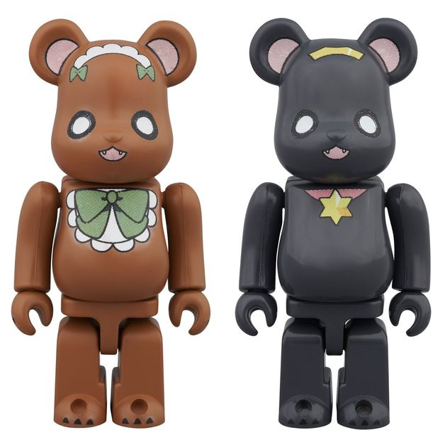 Be@rbrick: Yurikuma Arashi - Mini Figure (2pc Set)