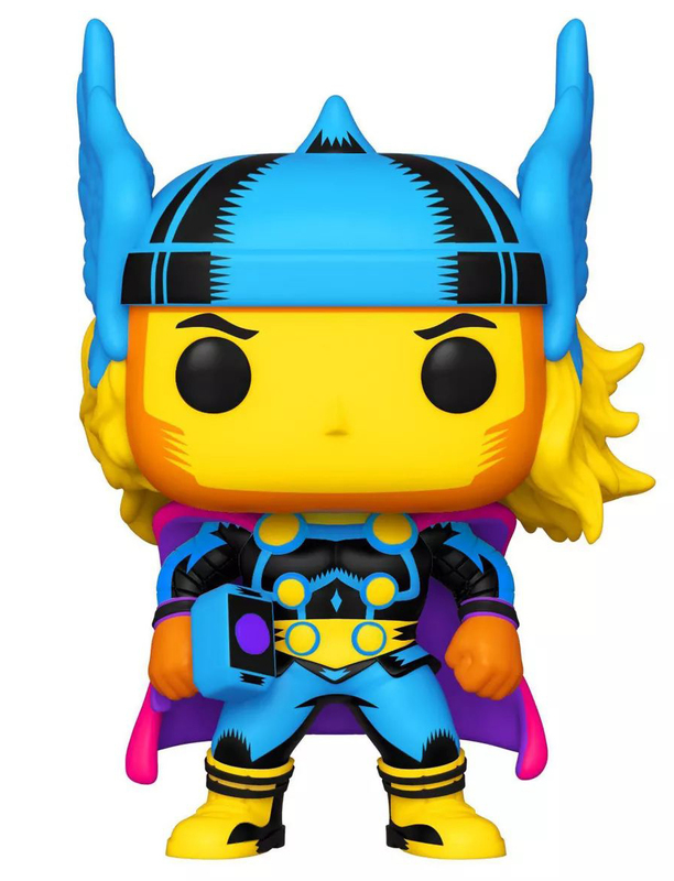 Marvel: Thor (Black Light) Pop! Vinyl Figure
