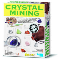 4M: Kidz Labs - Crystal Mining Kit