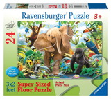 Ravensburger 24 Piece Super Size Jigsaw Puzzle - Jungle Juniors