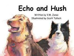 Echo and Hush by V.M. Jones