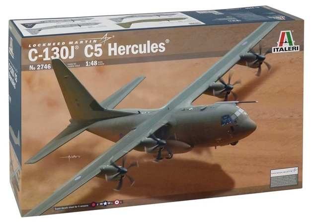 Italeri: 1:48 C-130J C5 Hercules - Model Kit