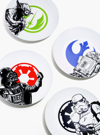 Star Wars: Ceramic Dinner Plate Set