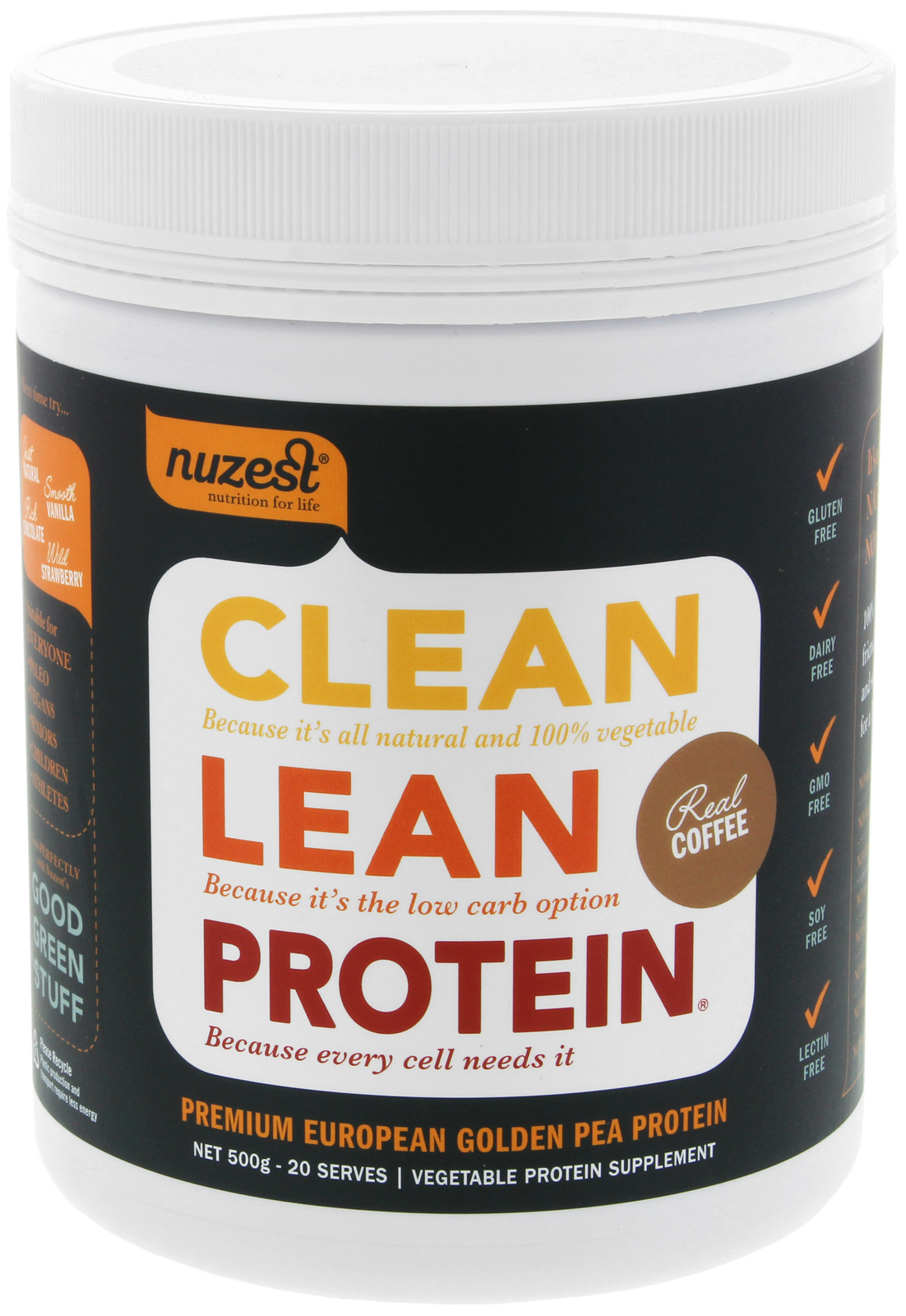 Clean Lean Protein - 500g (Real Coffee) image