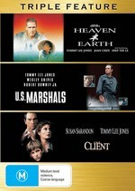 Heaven And Earth / U.S. Marshals / The Client - Triple Feature (3 Disc Set) on DVD