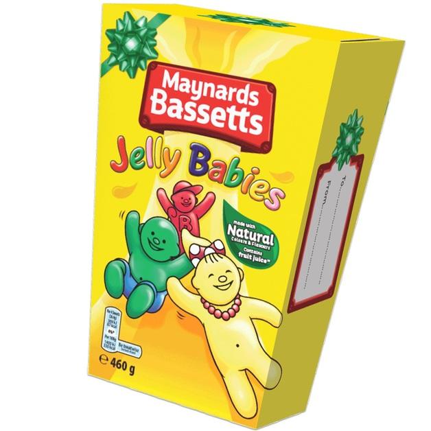 Bassetts Jelly Babies Carton (400g)