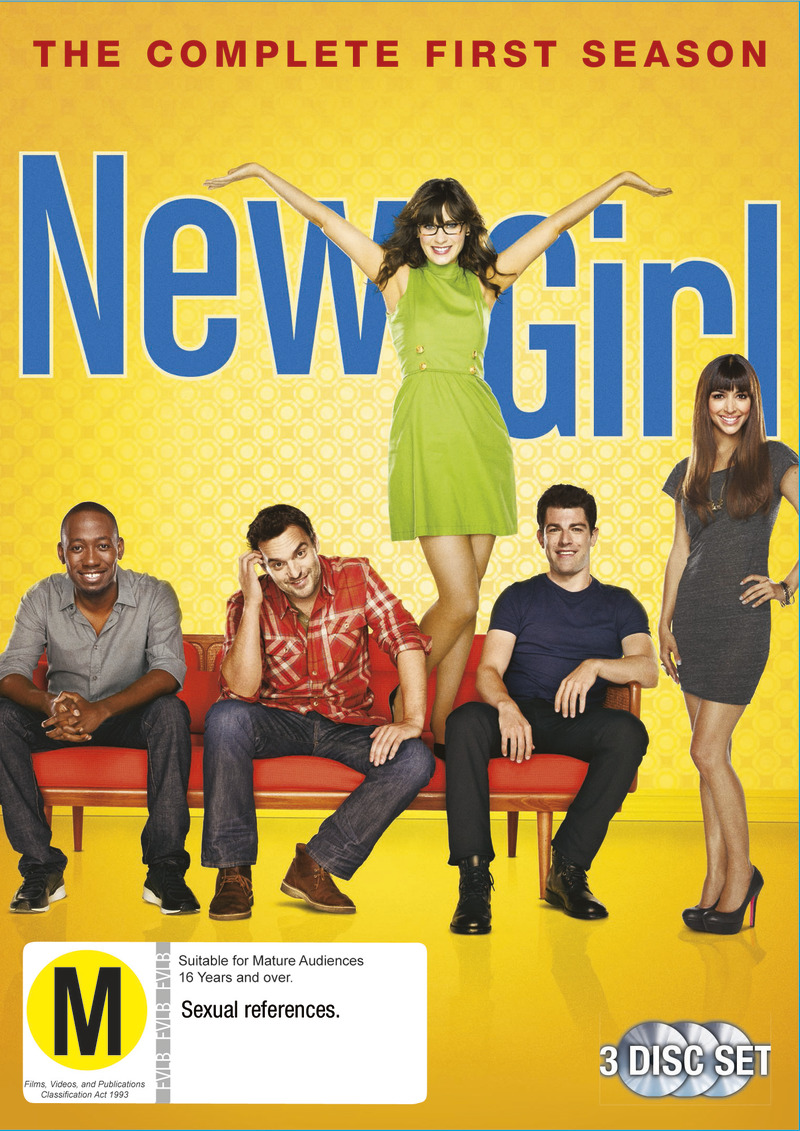 New Girl - The Complete First Season on DVD image