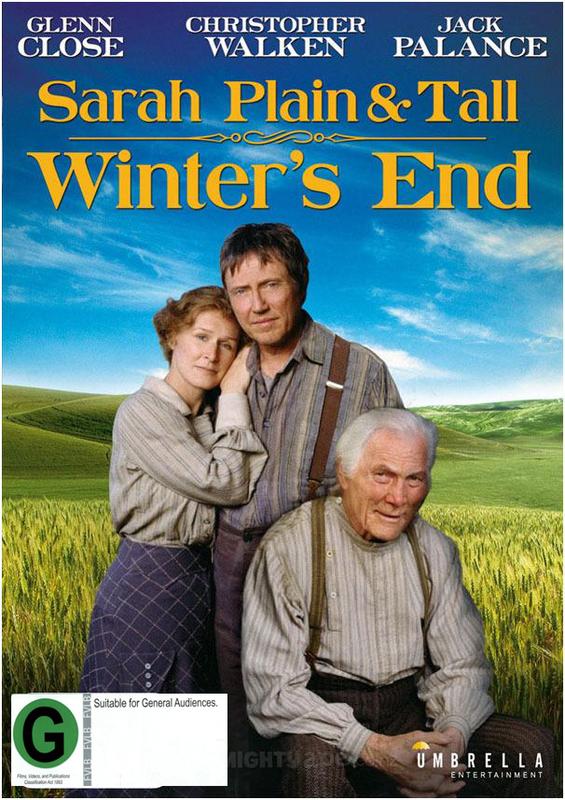 Sarah: Plain & Tall - Winter's End on DVD
