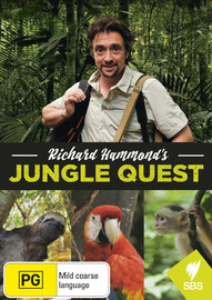Richard Hammond's Jungle Quest on DVD