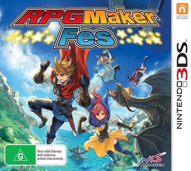 RPG Maker Fes for 3DS