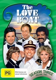 The Love Boat - Season 3 (Vol 2) on DVD