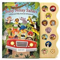 Busy Noisy Safari by Carmen Crowe image