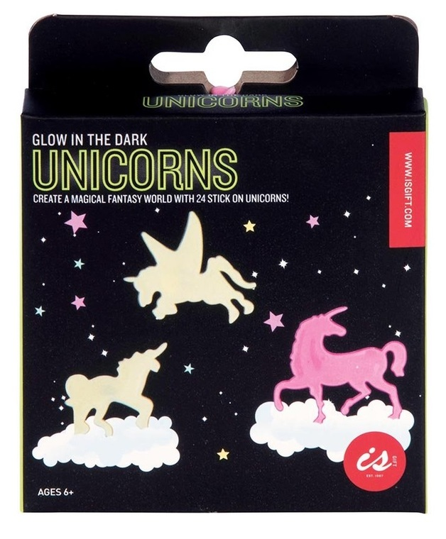 IS Gifts: Glow in the Dark - Unicorn Wall Stickers