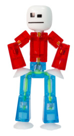 Stikbot: Single Pack - Blue/Red