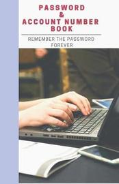 Password & Account Number Book by Grace Moore
