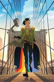Loki #1 - (Cover A) by Daniel Kibblesmith