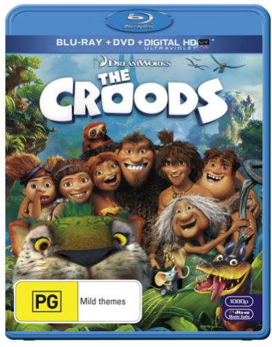 The Croods on DVD, Blu-ray