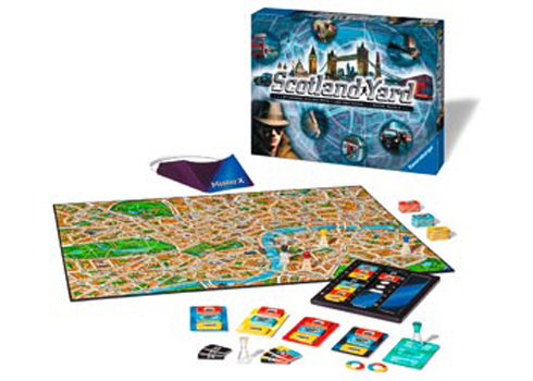 Ravensburger New Scotland Yard Board Game