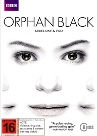 Orphan Black - Season 1 & 2 Box Set on DVD