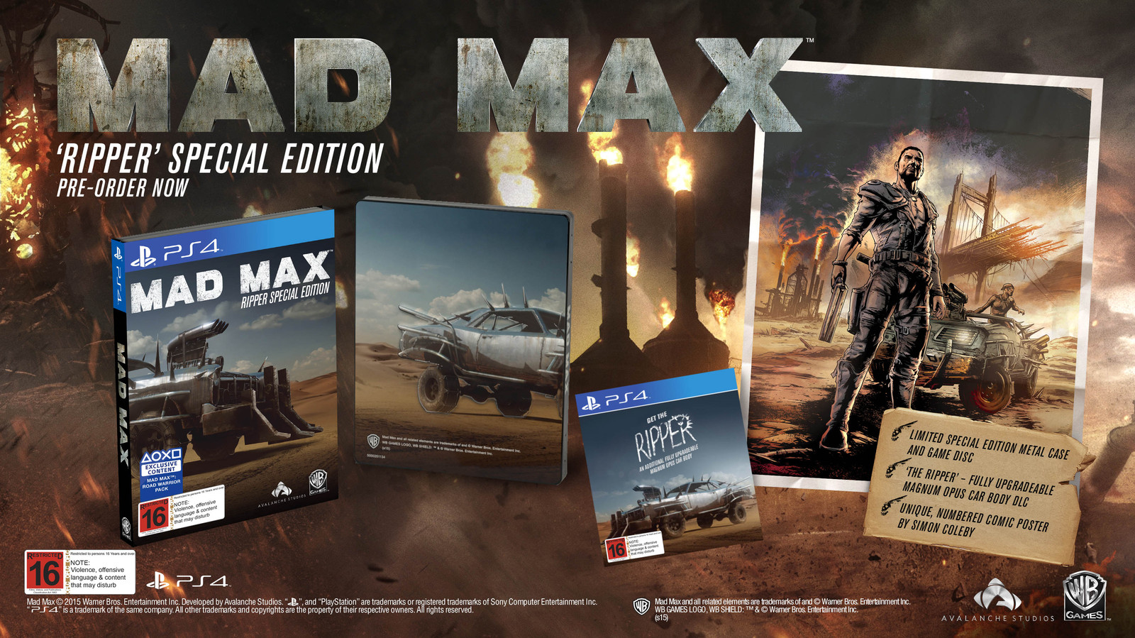 CollectorsEdition org » Mad Max Ripper Special Edition (PS4