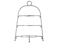 Maxwell & Williams Blush 3 Tier Display Stand Silver