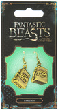 Fantastic Beasts Suitcase Earrings (antique brass plated)