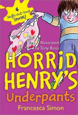 Horrid Henry's Underpants by Francesca Simon image