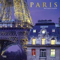 Paris 2019 Square Wall Calendar by Inc Browntrout Publishers